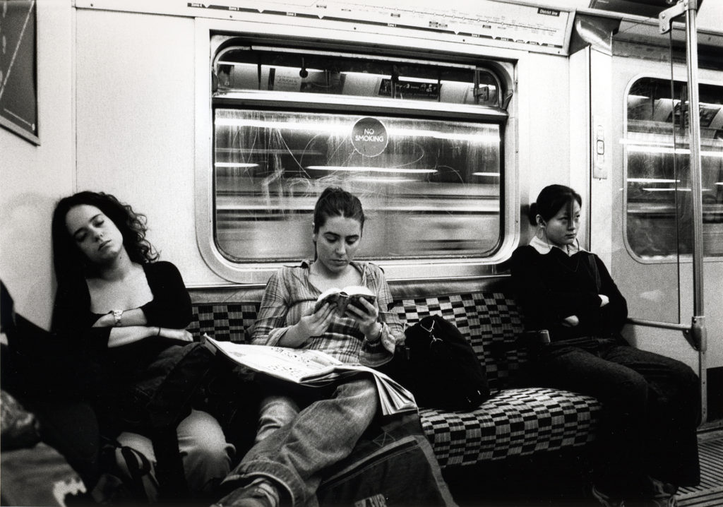 waiting for the next stop, London Tube